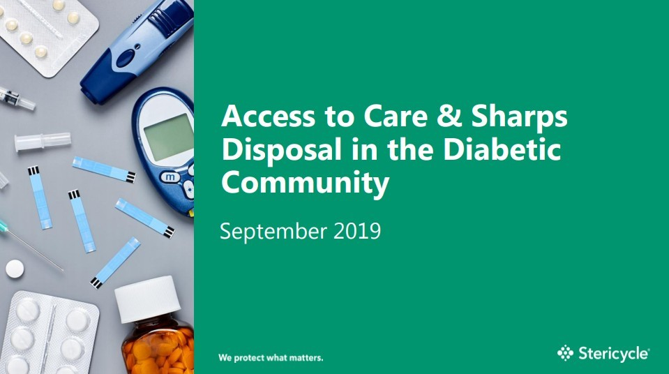 Access to Care & Sharps Disposal in the Diabetic Community