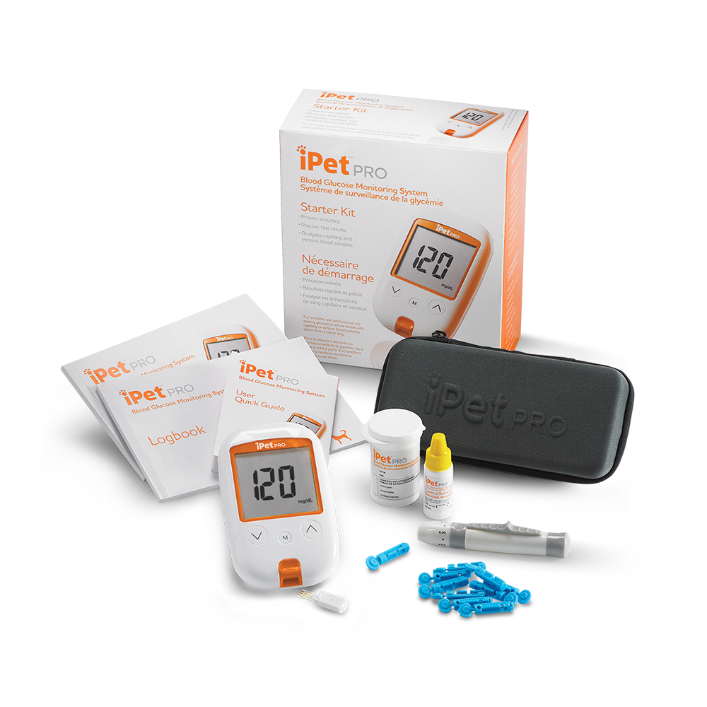 iPet PRO Blood Glucose Monitoring System